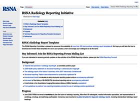 reportingwiki.rsna.org