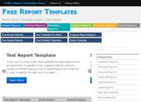 reporttemplatesz.org