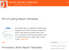 reportwritingtemplates.com