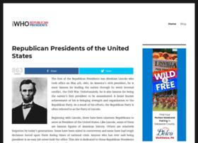 republicanpresidents.net