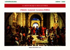 republique-des-lettres.fr
