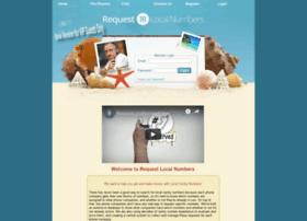 requestlocalnumbers.com
