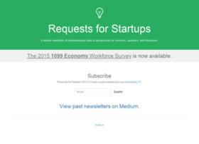 requestsforstartups.com