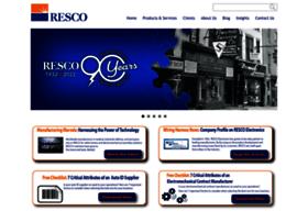 rescoelectronics.com