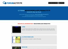 rescue-rhone-alpes.forumactif.fr