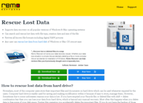 rescuelostdata.com