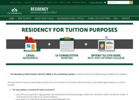 resdetermination.uncc.edu