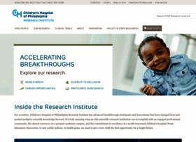research.chop.edu