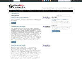 Research.globalriskcommunity.com