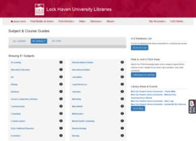 research.lhup.edu