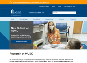 research.musc.edu