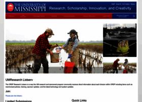 research.olemiss.edu