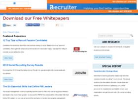 research.recruiter.com
