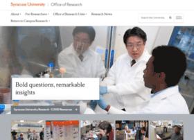 research.syr.edu
