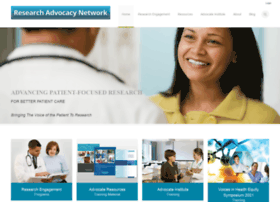 researchadvocacy.org