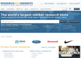 researchandmarkets.co.uk