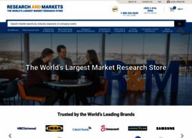 researchandmarkets.com