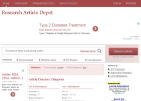 researcharticledepot.com