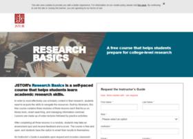 researchbasics.jstor.org