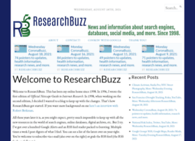 researchbuzz.org