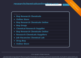 researchchemicalsonlinestore.com