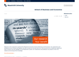 researchers-sbe.unimaas.nl