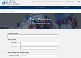 researchfaculty.brighamandwomens.org