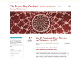 researchingparalegal.com