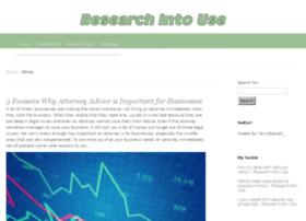 researchintouse.com