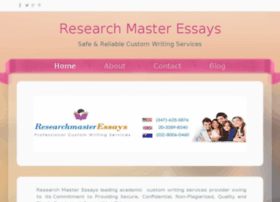 researchmasteressays.weebly.com