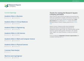 researchsquare.theresumator.com