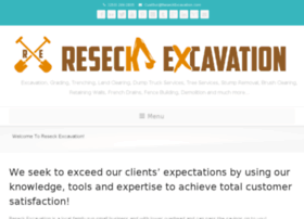 reseckexcavation.com