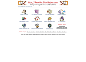 reseller.site-helper.com