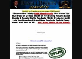 resellrightsweekly.com
