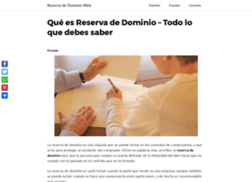 reservadedominioweb.com