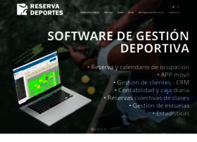 reservadeportes.com