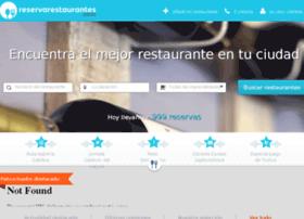 reservarestaurantes.com
