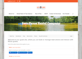reservations.sacocanoerental.com