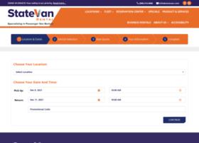 reservations.statevan.com