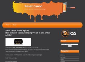 resetcanon.com
