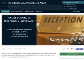 residence-des-alpes.hotel-rez.com