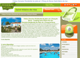 residence-etang-besse-hilaire-riez.federal-hotel.com