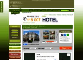 residence-paris-opera.federal-hotel.com