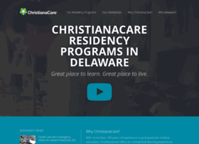 residency.christianacare.org