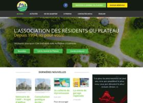 residentsduplateau.com