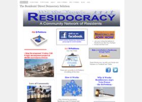 residocracy.org