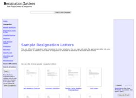 resignationletters.biz