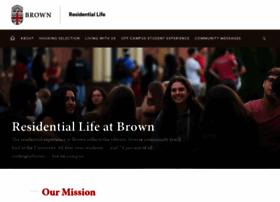 reslife.brown.edu