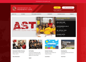 reslife.umd.edu