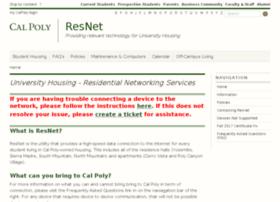 resnet.calpoly.edu